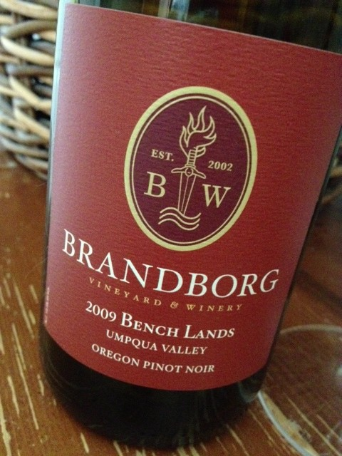 Best Case Scenario: Brandborg Winery Bench Lands Pinot Noir 2009