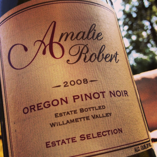Best Case Scenario: Amalie Robert Estate Selection Pinot Noir 2008