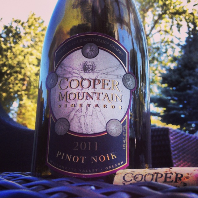 Best Case Scenario: Cooper Mountain Vineyards Pinot Noir 2011